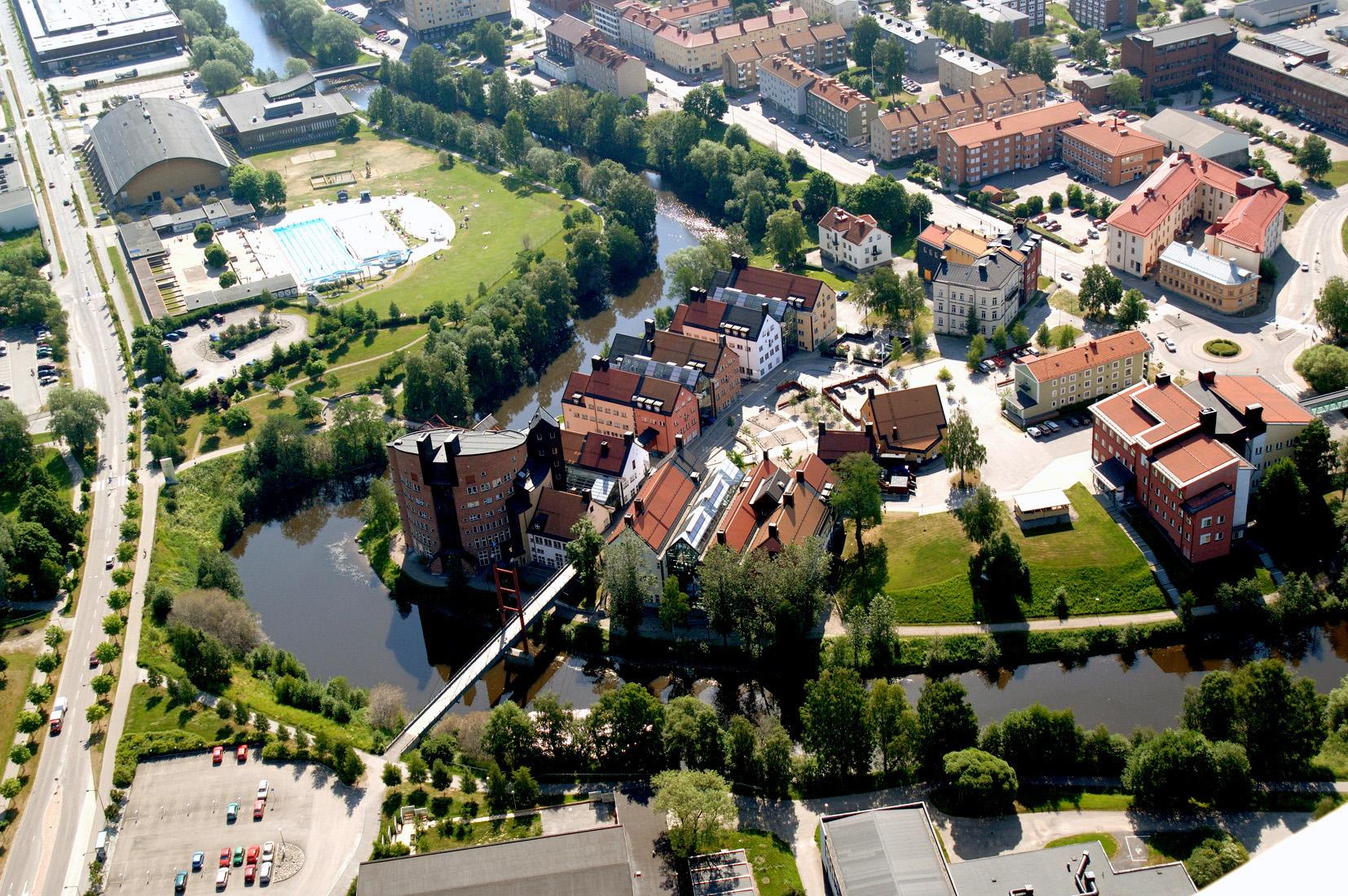 Eco Compact District ECCN - Mid sweden university map